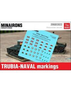 1/72 Trubia-Naval markings