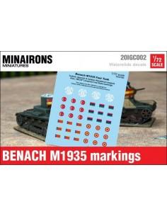 1/72 Distintivos del Benach M1935