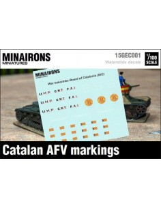 1/100 Distintivos de blindados catalanes