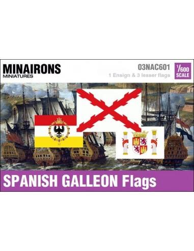 1/600 Pabellón de galeón español