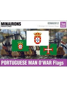 1/600 Portuguese Man-of-war flags