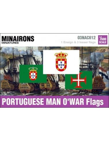 1/600 Pabellón de guerra portugués