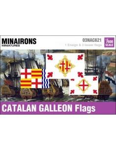 1/600 Pabellón de galeón catalán