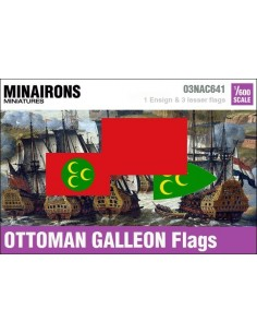 1/600 Ottoman Galleon flags