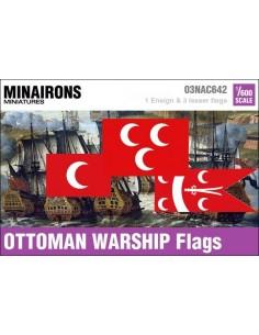 1/600 Ottoman Warship flags