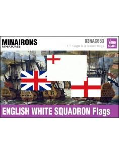1/600 Pabellón de la Escuadra Blanca inglesa