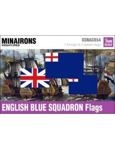1/600 English Blue Squadron flags