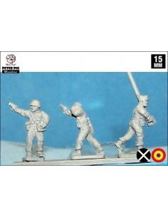 15mm Militia command
