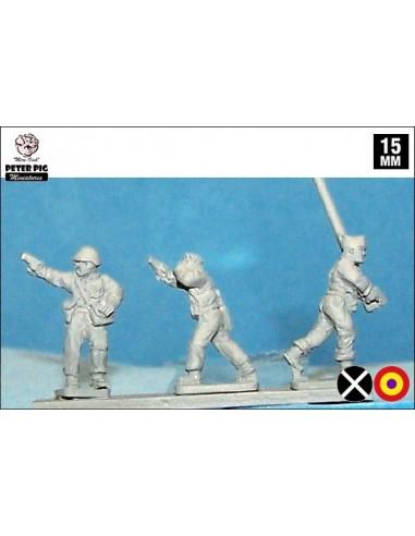 15mm Mando de milicias