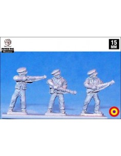 15mm Guàrdies d'Assalt en atenció