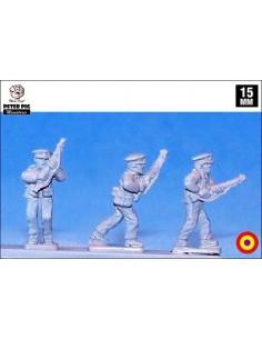 15mm Guardias de Asalto avanzando