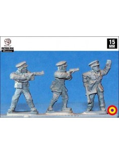 15mm Oficials de la Guàrdia d'Assalt