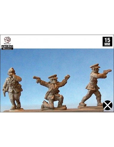15mm Nationalist Officers