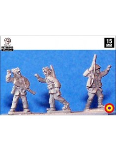 15mm Republican NCOs