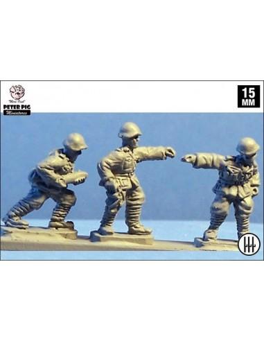 15mm Italian Gun crew