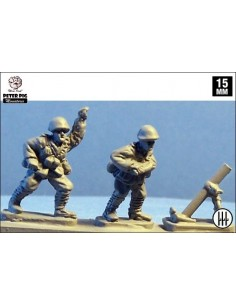 15mm Morters mitjans italians