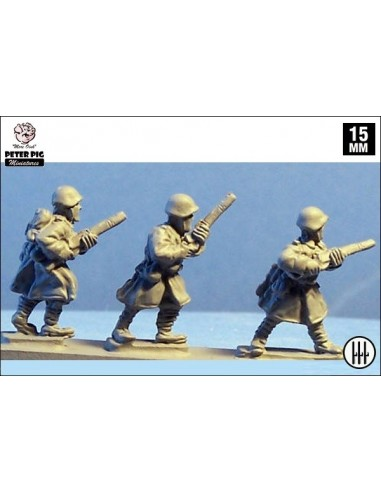 15mm Italian Infantry in Greatcoats