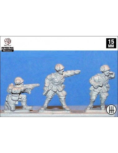 15mm Comandaments de Bersaglieri italians