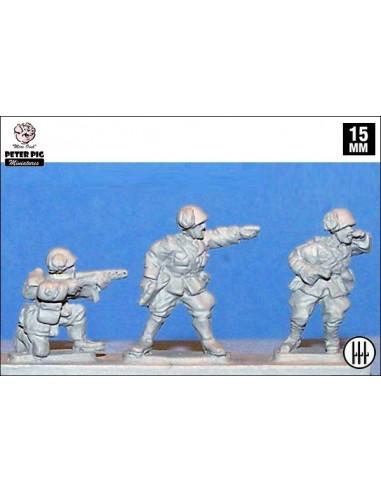 15mm Mandos de Bersaglieri italianos