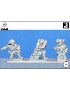 15mm Artillers Bersaglieri italians