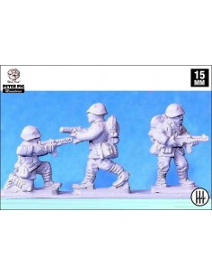 15mm Italian infantry with SMG