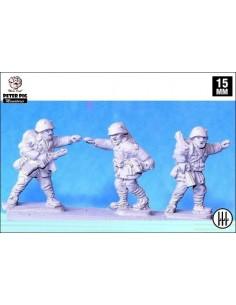 15mm Italian infantry NCOs
