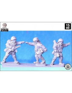 15mm Suboficiales italianos