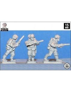 15mm Bersaglieri italianos con fusil
