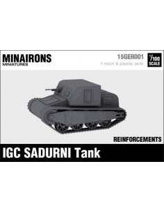 1/100 IGC Sadurní Tank - Single model