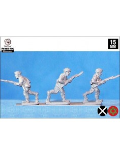 15mm Moroccan infantry in turban