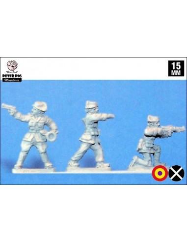 15mm Oficials de la Guàrdia Civil