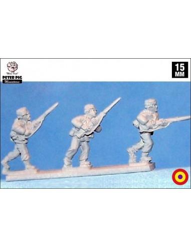 15mm International Brigade w/ pasamontañas