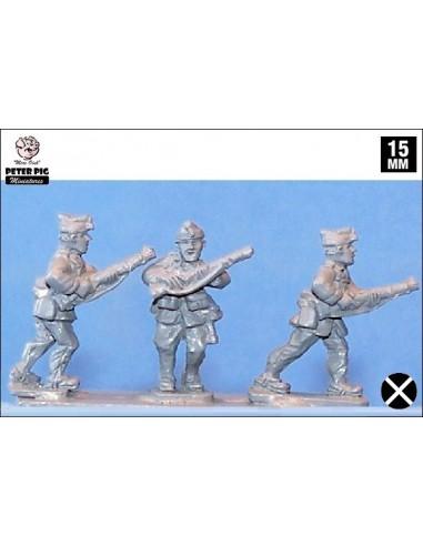 15mm Infanteria feixista avançant