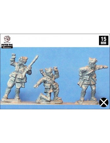 15mm Suboficiales franquistas