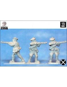 15mm Carlists firing