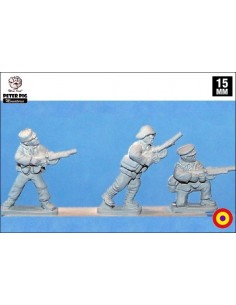 15mm International Brigade LMGs