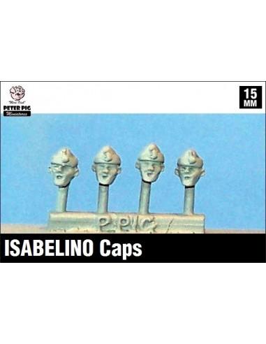 15mm Isabelino caps