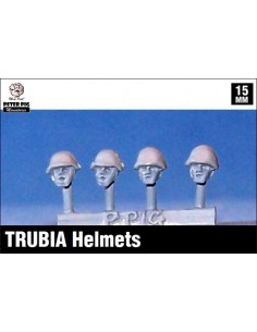 15mm Spanish helmets