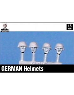15mm German helmets