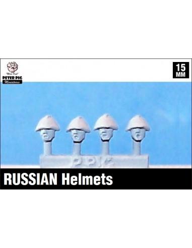 15mm Cascos rusos