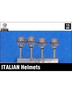 15mm Cascos italianos