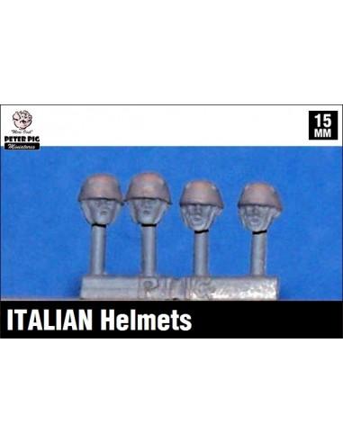 15mm Cascos italianos