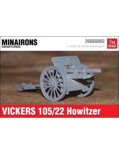 1/72 Obús Vickers 105mm