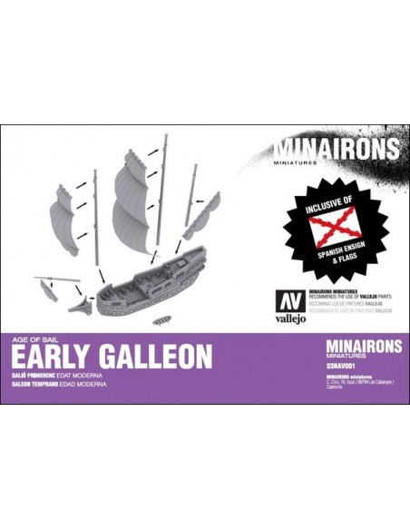 1/600 Early Galleon