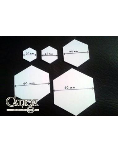Peanas hexagonales