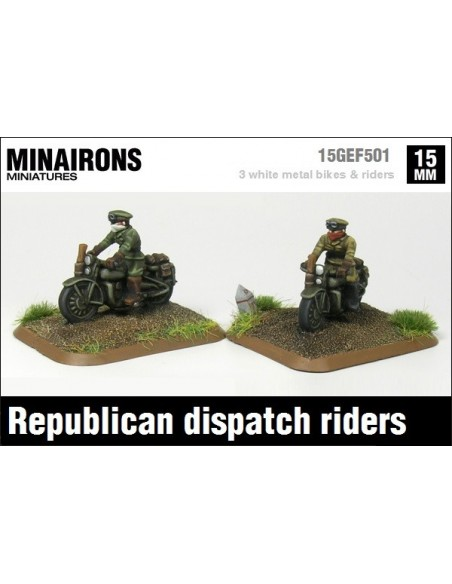 15mm Republican dispatch riders