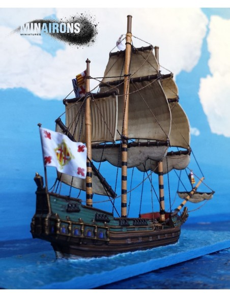 1/600 Late Galleon