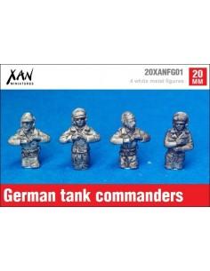 1/72 Comandantes de carro alemanes