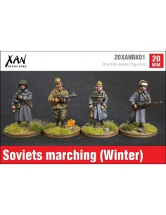 1/72 Soviets marching (Winter dress)