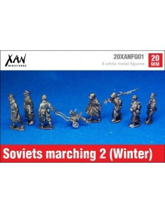 1/72 Soviets marching 2 (Winter dress)